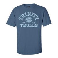 TRINITY TROLLS BLUE CLASSIC T-SHIRT