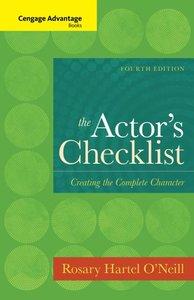 ACTOR'S CHECKLIST (P)