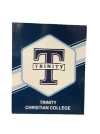 FOLDER, T WITH TRINITY BANNER