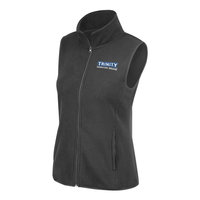 VEST, WOMEN'S GRAY FLEECE