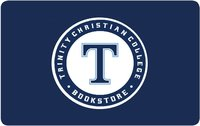 GIFT CARD, TRINITY WITH T IN CIRCLE