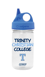 SIPPY CUP, CLEAR NALGENE 12 OZ TCC WITH T