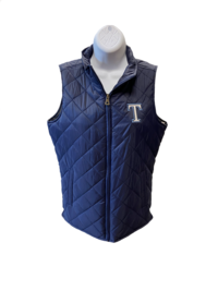 VEST, MV WOMEN'S QUILTED NAVY