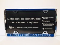 SILVER TRINITY CHRISTIAN COLLEGE LICENSE PLATE HOLDER